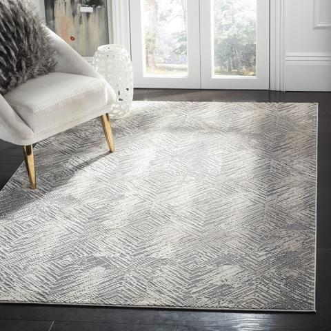 Safavieh Meadow 338 Ivory / Grey-Area Rug-Safavieh-The Rug Truck