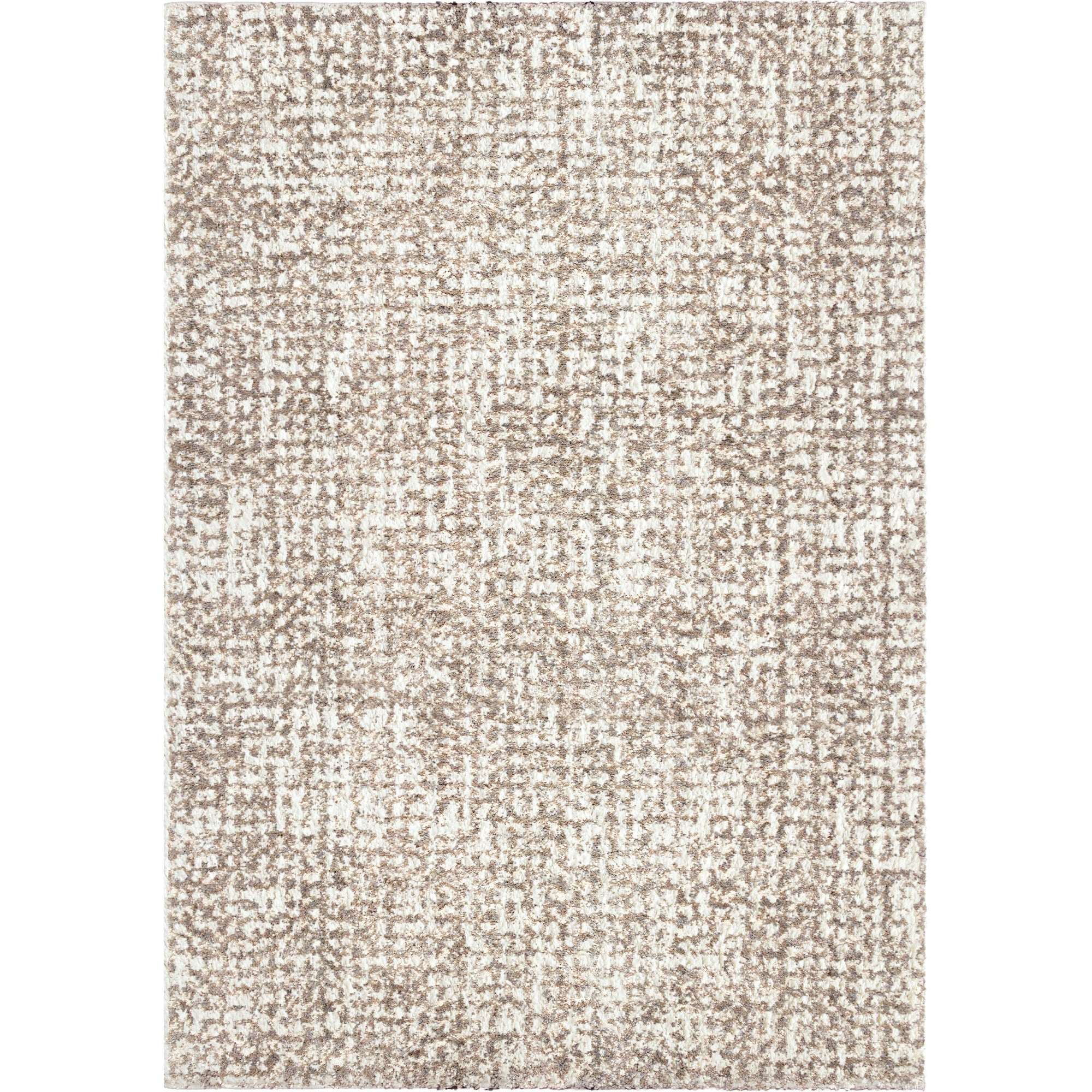 "Palmetto Living Cotton Tail Ditto White Area Rug - 2'3"" x 8'0"""