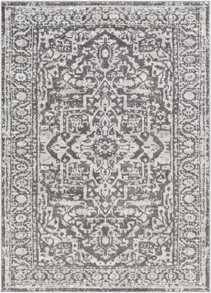 "Monte Carlo MNC-2300 Charcoal Area Rug-Area Rug-Surya-3'11"" x 5'7""-The Rug Truck"
