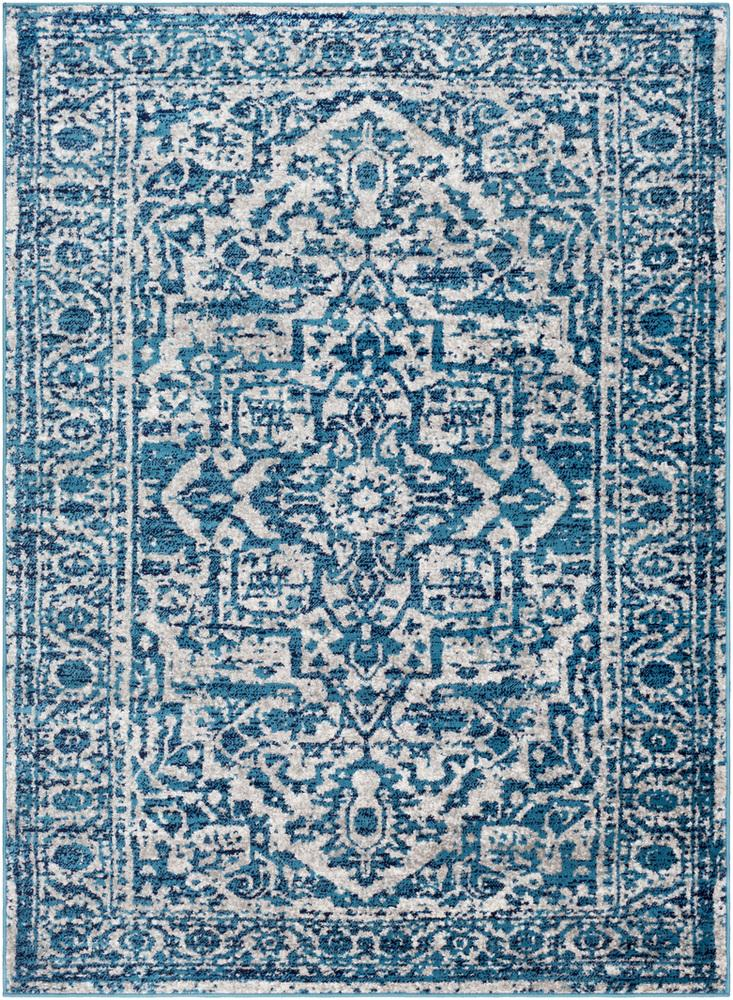 "Monte Carlo MNC-2302 Sky Blue Area Rug-Area Rug-Surya-3'11"" x 5'7""-The Rug Truck"
