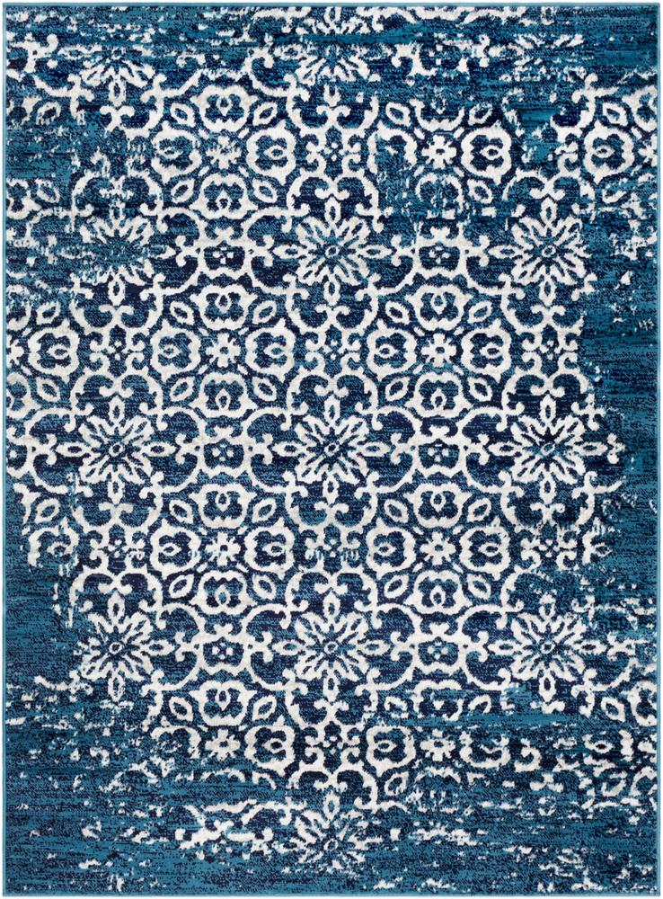 "Monte Carlo MNC-2303 Sky Blue Area Rug-Area Rug-Surya-3'11"" x 5'7""-The Rug Truck"