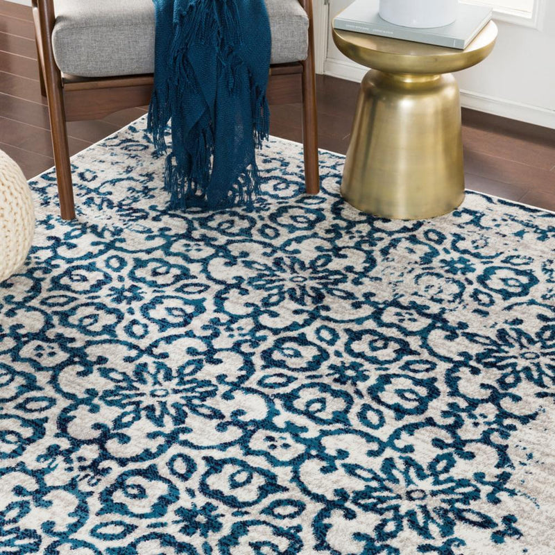"Monte Carlo MNC-2304 Sky Blue Area Rug-Area Rug-Surya-3'11"" x 5'7""-The Rug Truck"