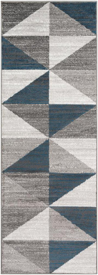 "Monte Carlo MNC-2307 Light Gray Area Rug-Area Rug-Surya-2'7"" x 7'3""-The Rug Truck"