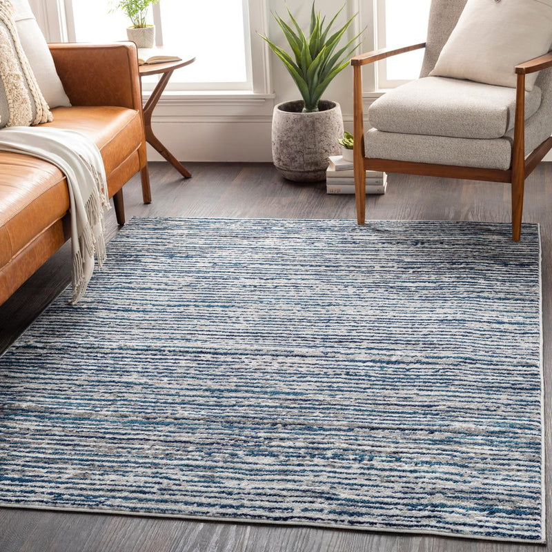 "Monte Carlo MNC-2309 Navy Area Rug-Area Rug-Surya-3'11"" x 5'7""-The Rug Truck"