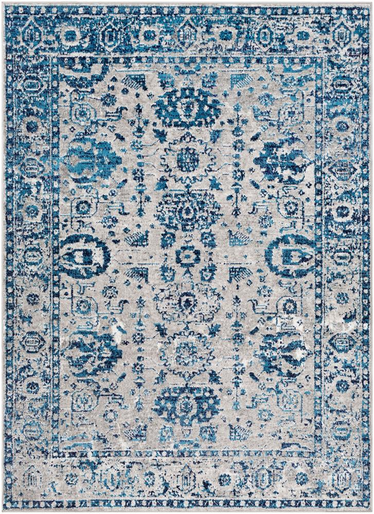 "Monte Carlo MNC-2310 Light Gray Area Rug-Area Rug-Surya-3'11"" x 5'7""-The Rug Truck"