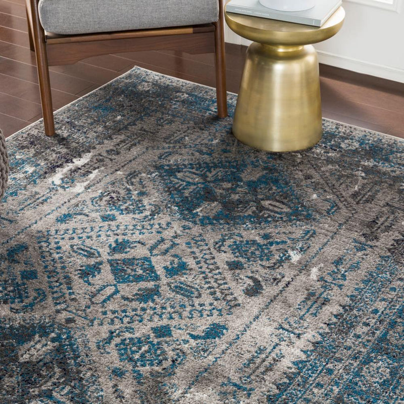 "Monte Carlo MNC-2312 Light Gray Area Rug-Area Rug-Surya-3'11"" x 5'7""-The Rug Truck"