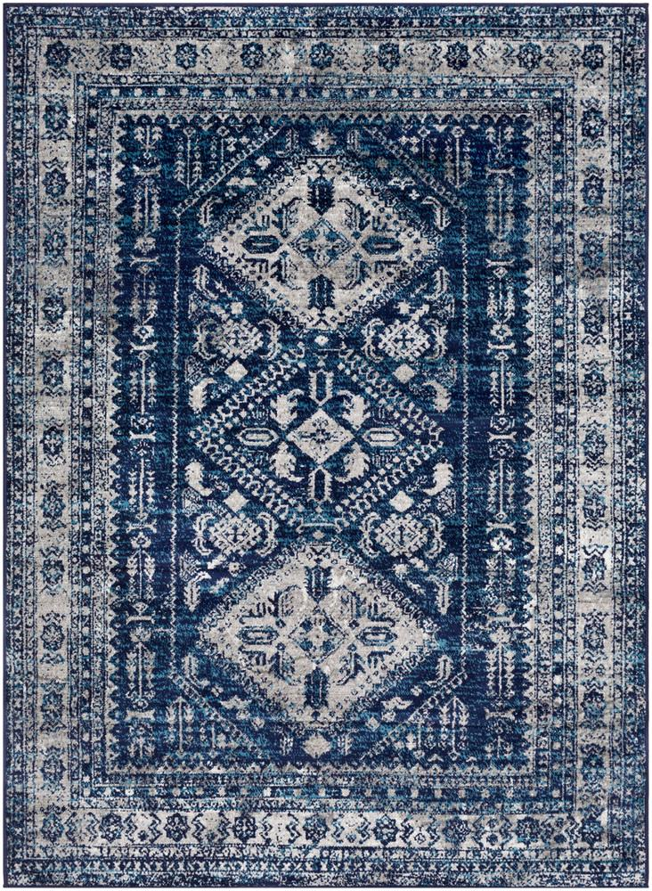 "Monte Carlo MNC-2315 Navy Area Rug-Area Rug-Surya-3'11"" x 5'7""-The Rug Truck"