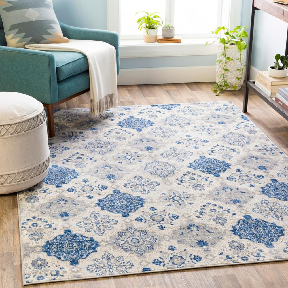 Monaco MOC-2309 Bright Blue Area Rug-Area Rug-Surya-The Rug Truck