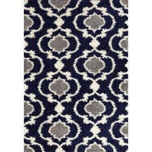 "Florida 2525 Navy Area Rug-Area Rug-World Rug Gallery-3'3"" x 5'-The Rug Truck"