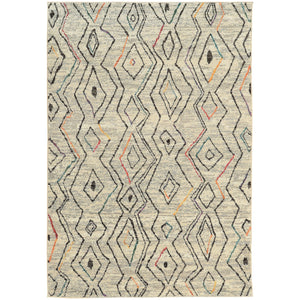 "Nomad - 2162W - Ivory/Multi-Area Rug-Oriental Weavers-4' 0"" X 5' 9""-The Rug Truck"