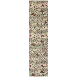 Nomad - 4330W - Ivory/Multi-Area Rug-Oriental Weavers-The Rug Truck