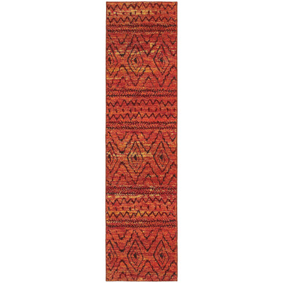 Nomad - 8122O - Orange/Red-Area Rug-Oriental Weavers-The Rug Truck