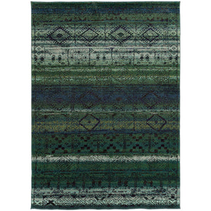 "Nomad - 8123G - Green/Blue-Area Rug-Oriental Weavers-4' 0"" X 5' 9""-The Rug Truck"