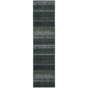 Nomad - 8123G - Green/Blue-Area Rug-Oriental Weavers-The Rug Truck
