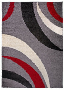 "Hampton 753 Red Area Rug-Area Rug-World Rug Gallery-3'3"" x 5'-The Rug Truck"