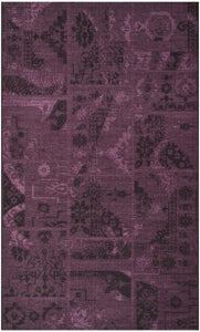 Safavieh Palazzo Black / Purple-Area Rug-Safavieh-The Rug Truck