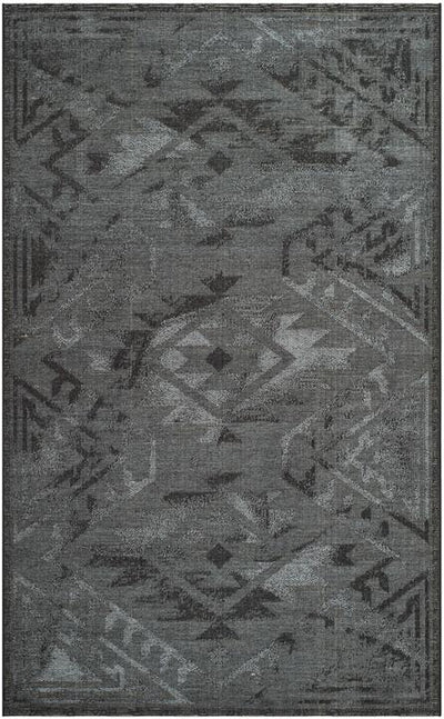 "Safavieh Palazzo Black / Grey-Area Rug-Safavieh-2' X 3'-6""-The Rug Truck"