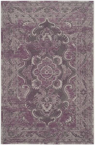 Safavieh Palazzo 123 Grey / Purple-Area Rug-Safavieh-The Rug Truck