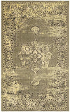 Safavieh Palazzo 124 Yellow / Black-Area Rug-Safavieh-The Rug Truck