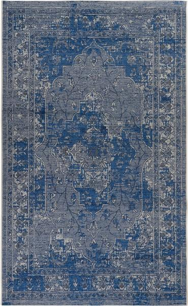 Safavieh Palazzo 128 Light Blue / Blue-Area Rug-Safavieh-The Rug Truck