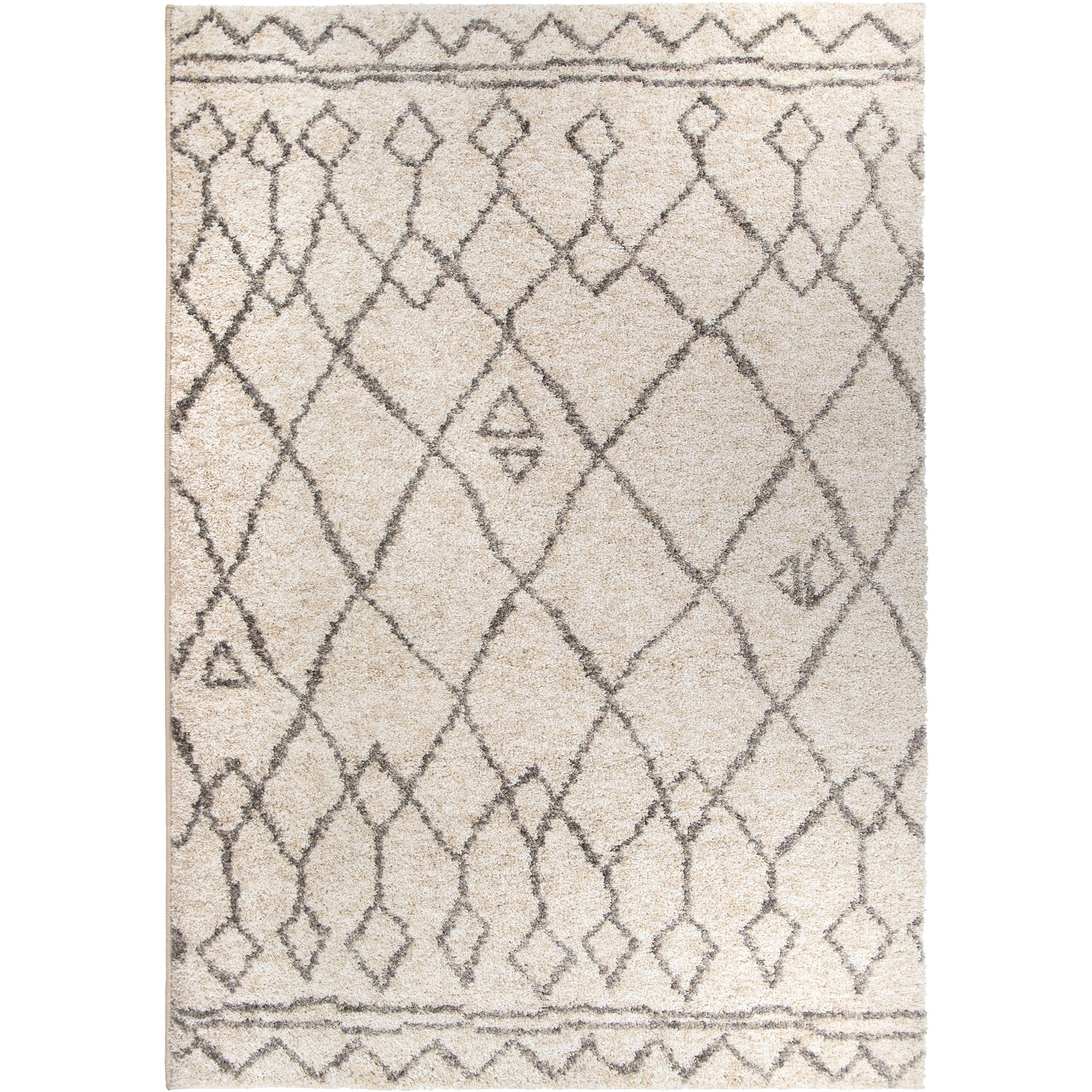 "Palmetto Living Casablanca Tribal 01 Lambswool Area Rug - 2'3"" x 8'"
