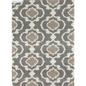 "Florida 2525 Gray Area Rug-Area Rug-World Rug Gallery-3'3"" x 5'-The Rug Truck"