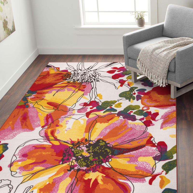 "Avora 503 Multi Area Rug-Area Rug-World Rug Gallery-1'8"" x 2'6""-The Rug Truck"