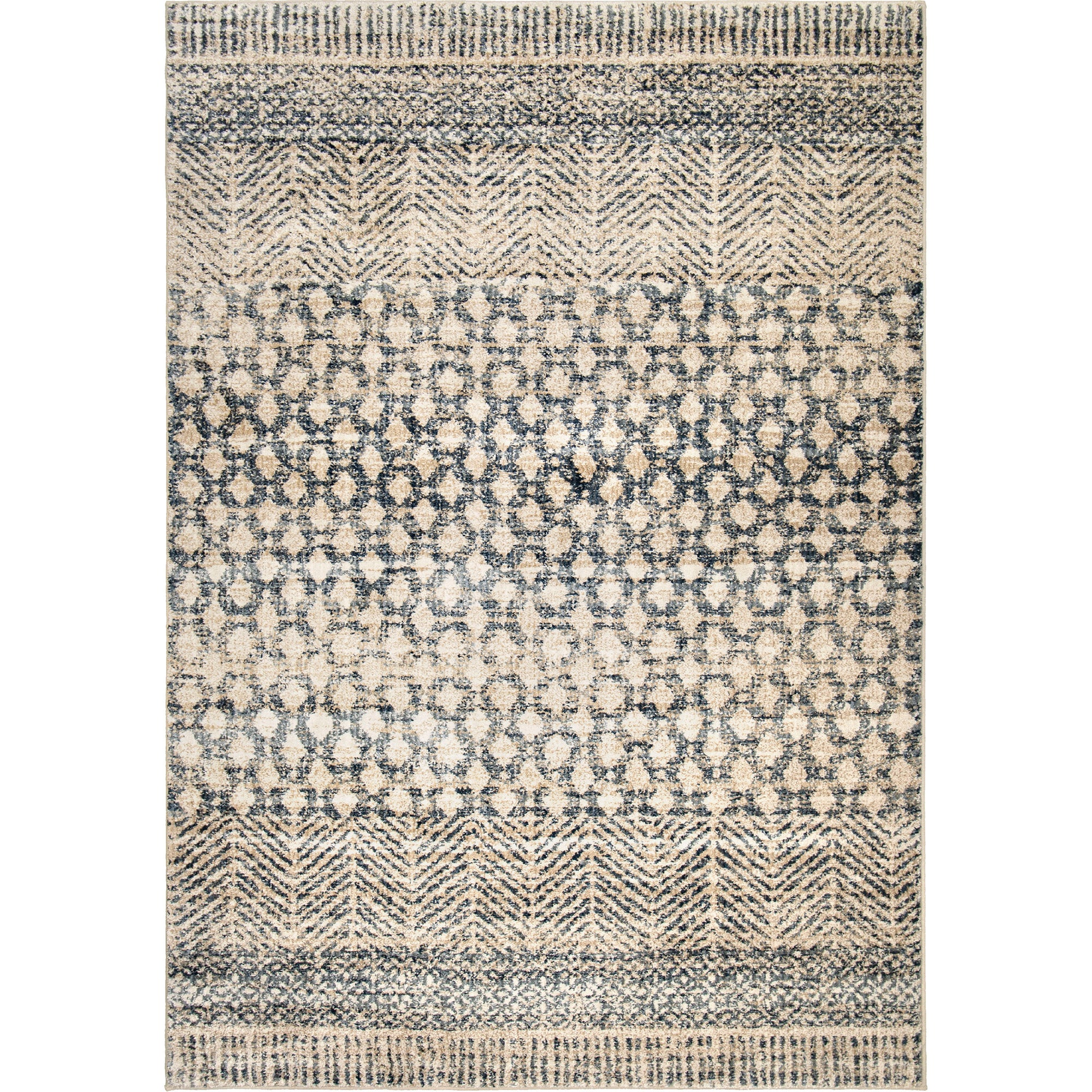 "Palmetto Living Adagio Arrowhead Light Blue Area Rug - 2'2"" x 8'"