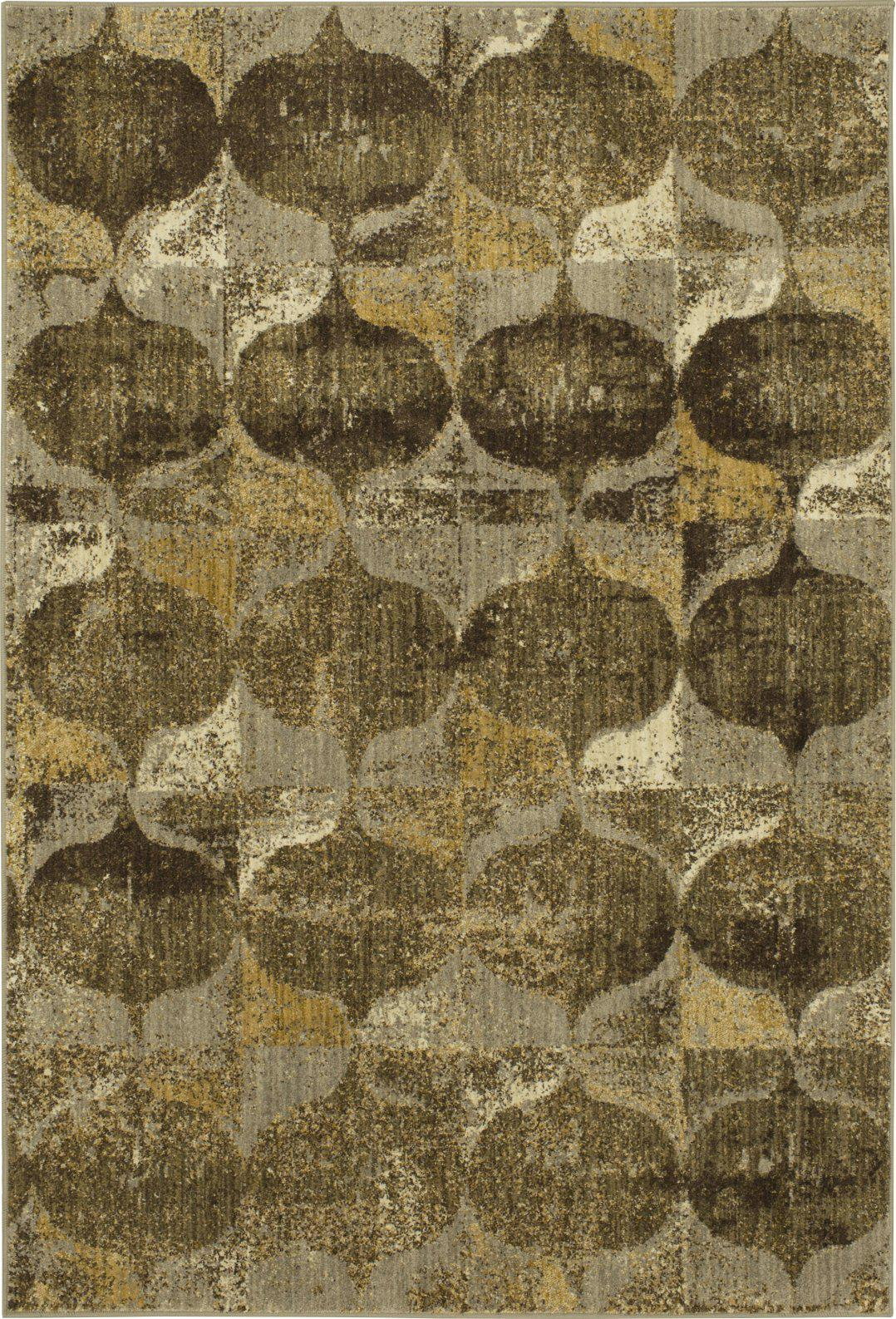 Expressions Iconograph Gold by Scott Living Area Rug-Area Rug-Scott Living-The Rug Truck