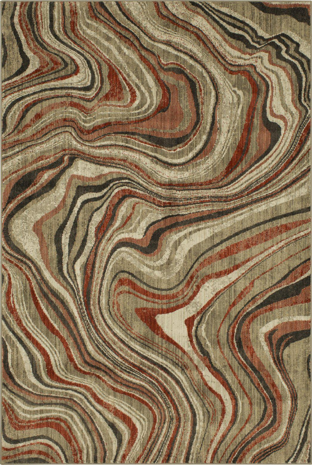 Expressions Sediment Ginger by Scott Living Area Rug-Area Rug-Scott Living-The Rug Truck