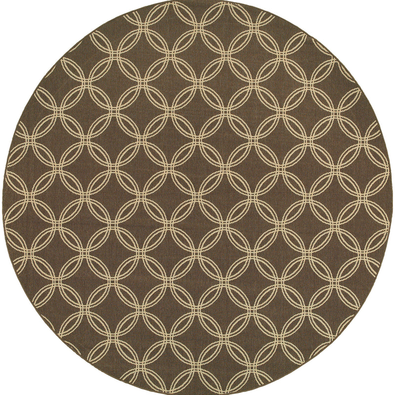 "Tommy Bahama Home Seaside 3360d Brown/Beige-Area Rug-Tommy Bahama Home-2' 5"" X 4' 5""-The Rug Truck"
