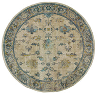 Sedona - 5171C - Ivory/Blue-Area Rug-Oriental Weavers-The Rug Truck