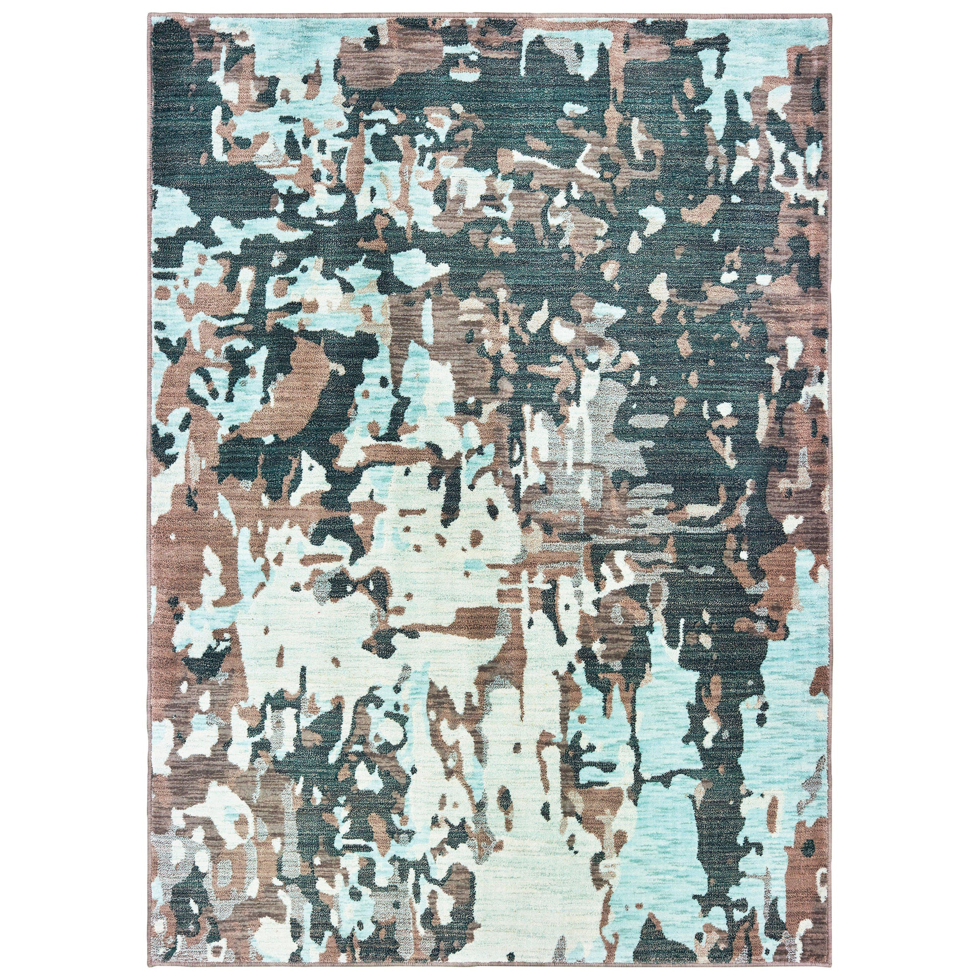 "Sedona - 8957G - Grey/Blue-Area Rug-Oriental Weavers-1'10"" X 3' 0""-The Rug Truck"