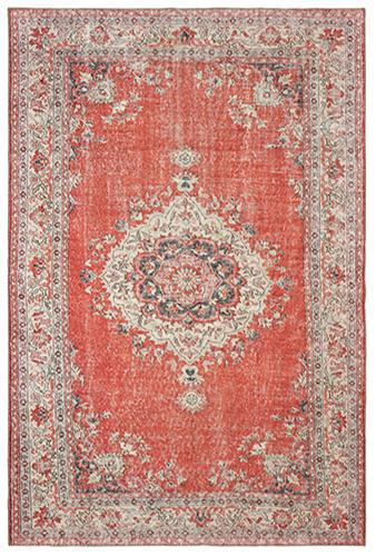 "The Rug Truck Shayna 85810 Red Area Rug (8' 3"" X 11' 6"")"