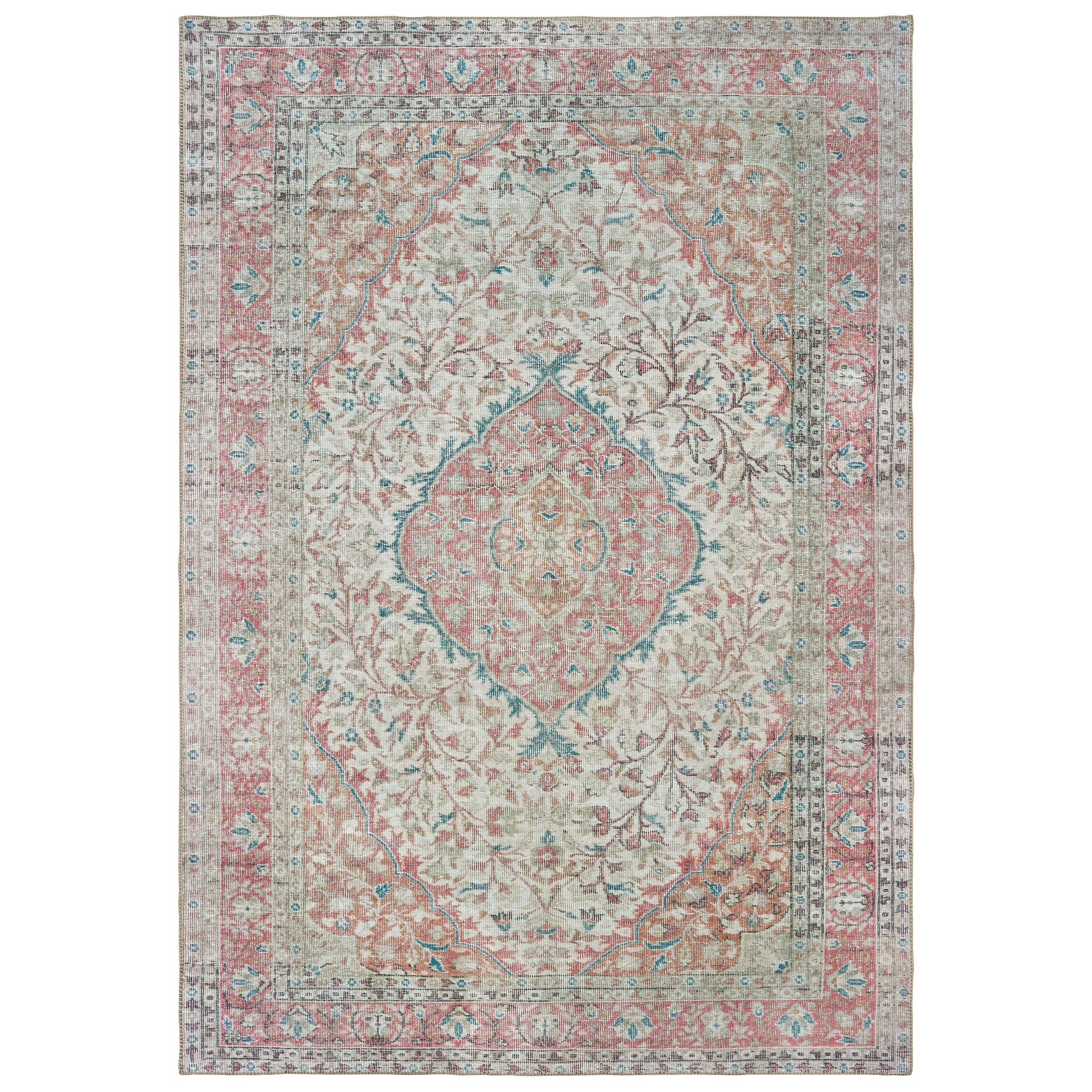 "The Rug Truck Shayna 85812 Ivory Area Rug (8' 3"" X 11' 6"")"