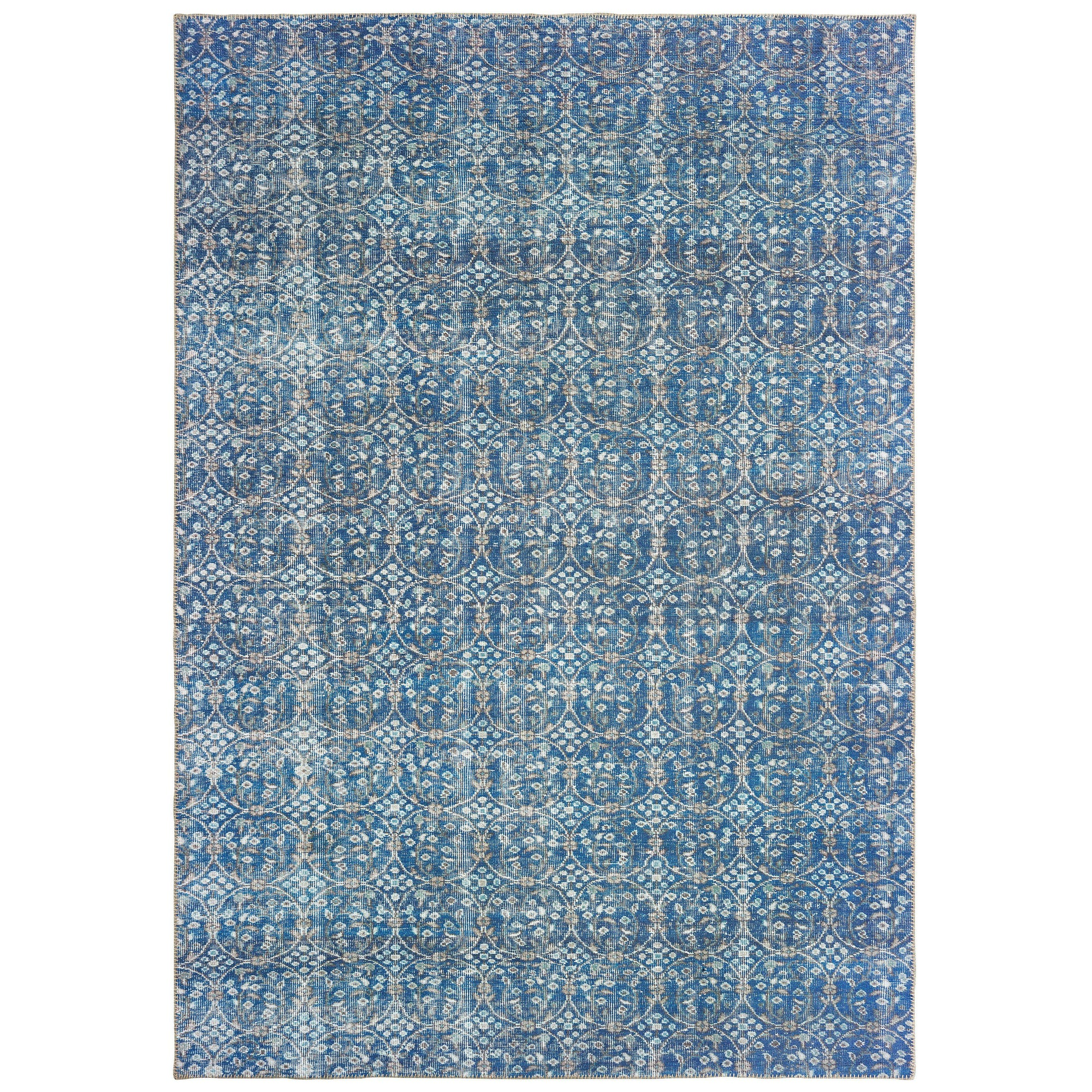 "The Rug Truck Shayna 85815 Blue Area Rug (8' 3"" X 11' 6"")"