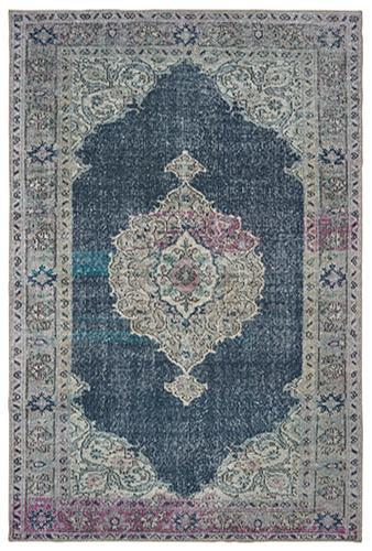 "The Rug Truck Shayna 85817 Blue Area Rug (8' 3"" X 11' 6"")"