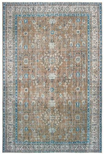 "The Rug Truck Shayna 85818 Gold Area Rug (8' 3"" X 11' 6"")"