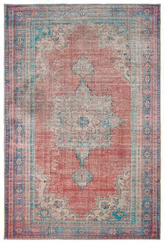 "The Rug Truck Shayna 85819 Red Area Rug (8' 3"" X 11' 6"")"