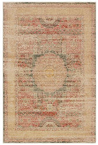 "Toscana - 9564A - Ivory/Orange-Area Rug-Oriental Weavers-1'10"" X 3'-The Rug Truck"