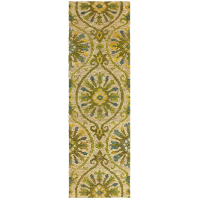 "Tommy Bahama Home Valencia 57701 Beige/Green-Area Rug-Tommy Bahama Home-2' 6"" X 8' 0""-The Rug Truck"