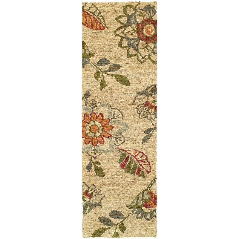 "Tommy Bahama Home Valencia 57709 Beige/Multi-Area Rug-Tommy Bahama Home-3' 6"" X 5' 6""-The Rug Truck"