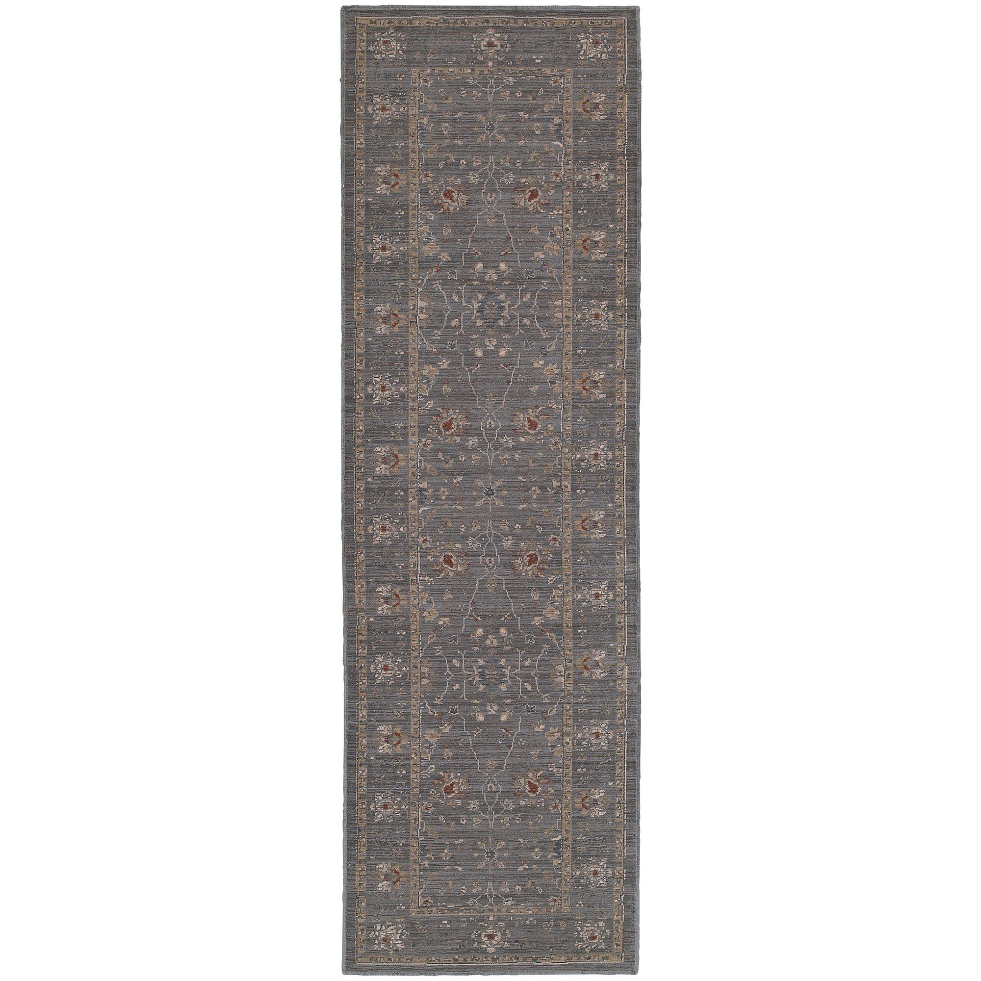 "Tommy Bahama Home Vintage 534k Blue/Gold-Area Rug-Tommy Bahama Home-1'10"" X 3' 3""-The Rug Truck"