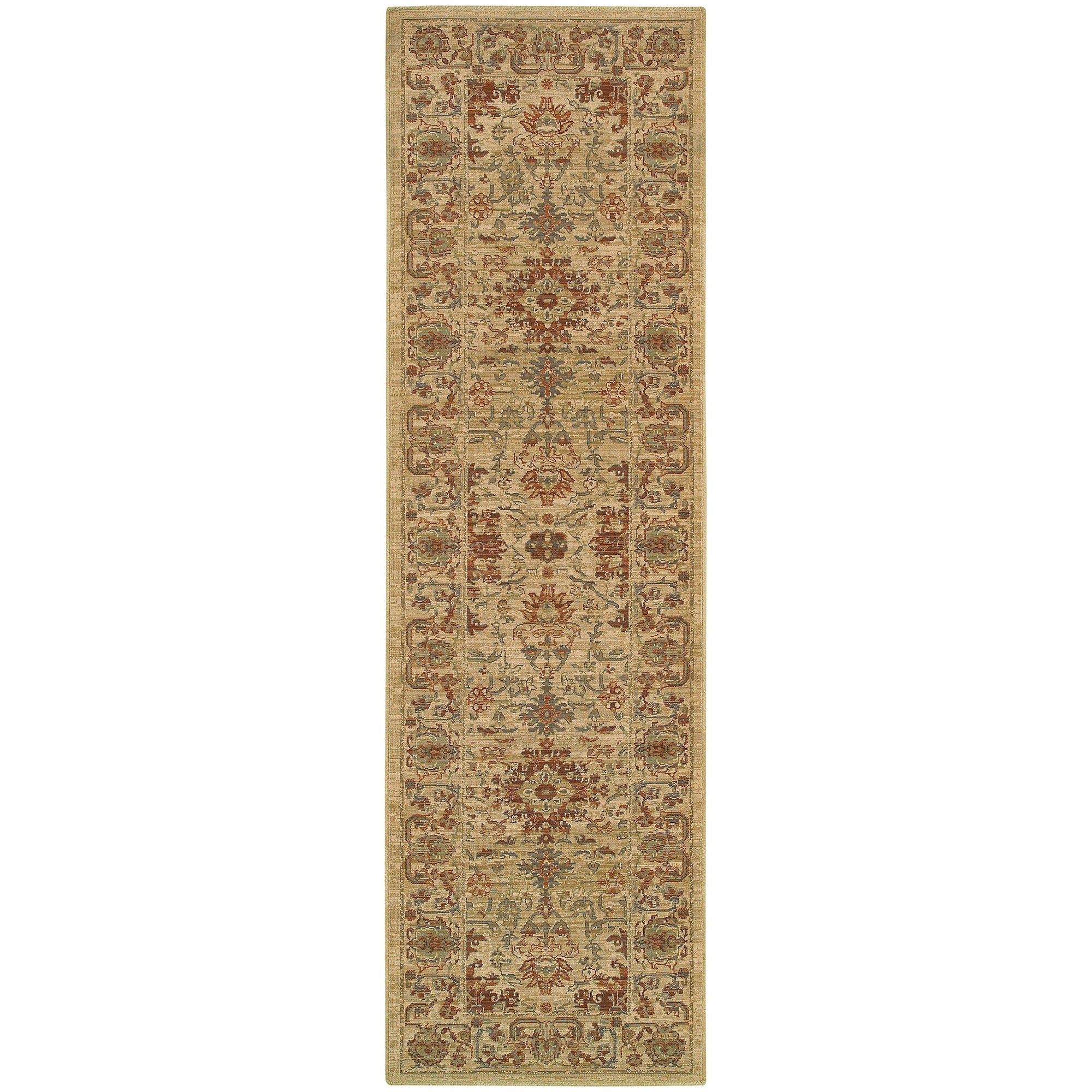 "Tommy Bahama Home Vintage 5992j Beige/Multi-Area Rug-Tommy Bahama Home-1'10"" X 3' 3""-The Rug Truck"