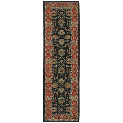 "Tommy Bahama Home Vintage 634n Brown/Rust-Area Rug-Tommy Bahama Home-2' 7"" X 9' 4""-The Rug Truck"