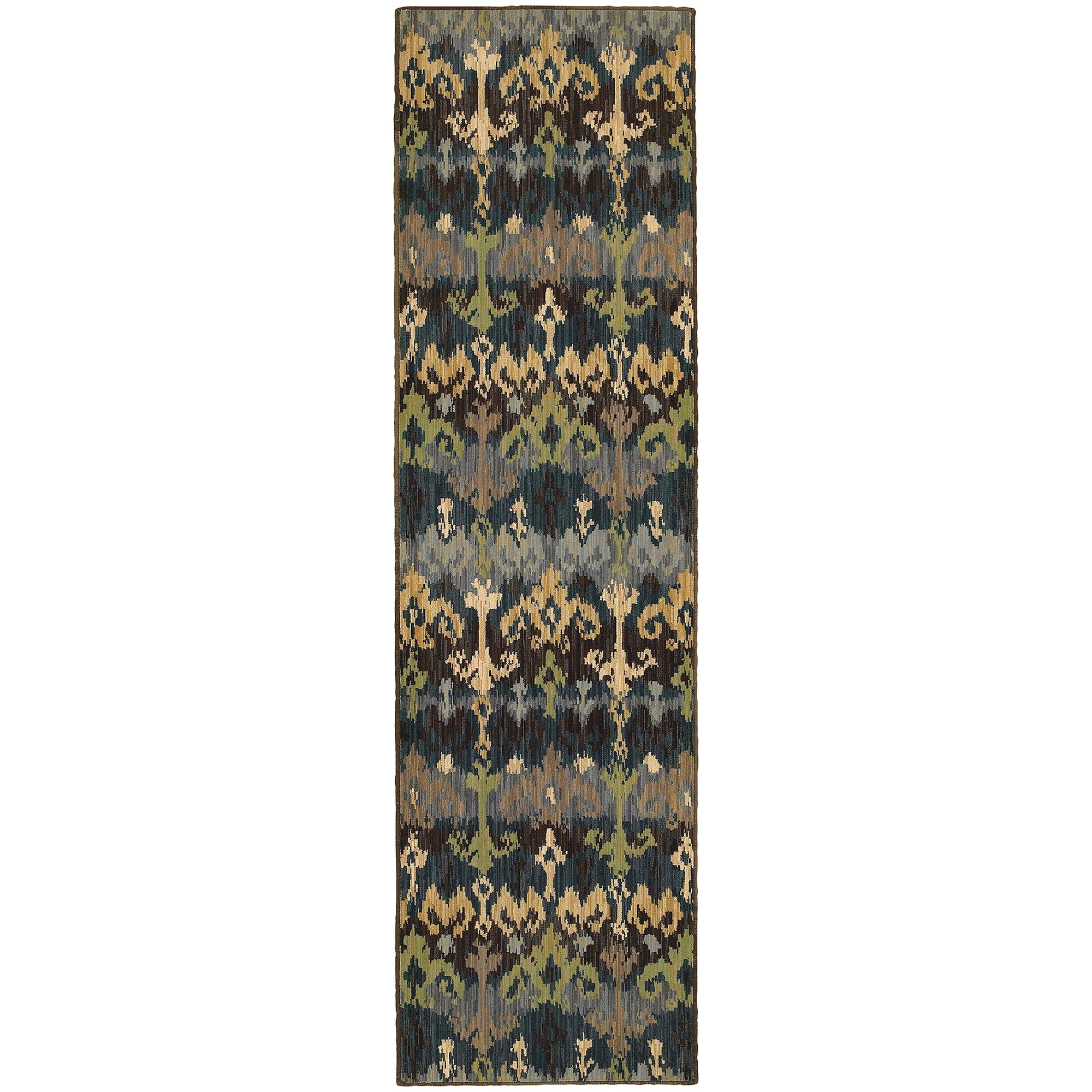 "Tommy Bahama Home Vintage 8122n Blue/Multi-Area Rug-Tommy Bahama Home-1'10"" X 3' 3""-The Rug Truck"