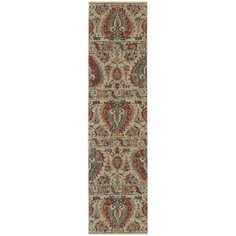 "Tommy Bahama Home Voyage 104w Beige/Multi-Area Rug-Tommy Bahama Home-3'10"" X 5' 5""-The Rug Truck"