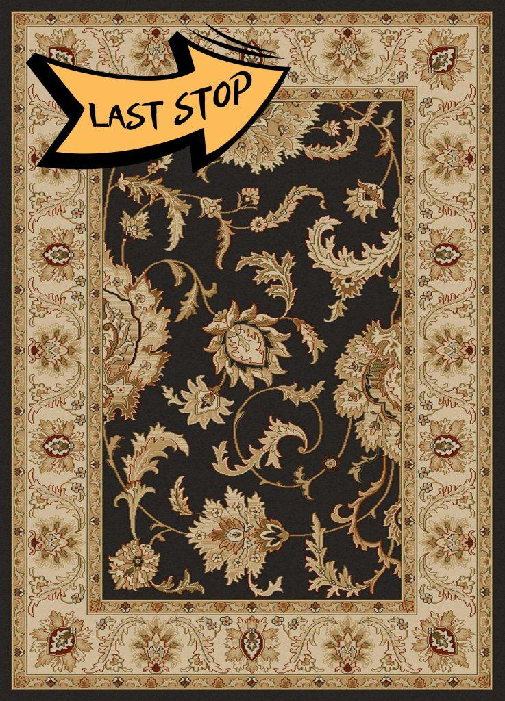 Vozza 1621 Brown Area Rug 33 X 411