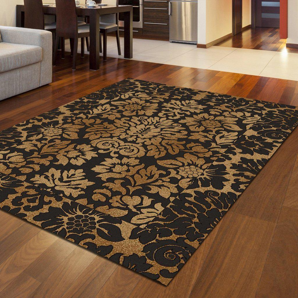 Vozza 1717 Brown Area Rug 33 X 411