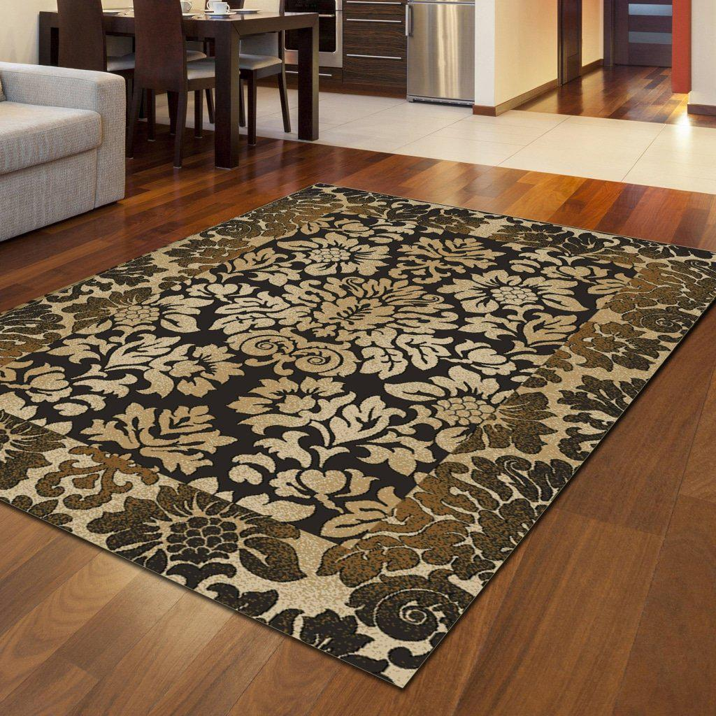 Vozza 1717 Chocolate Area Rug 33 X 411